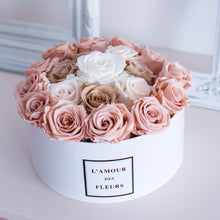 Load image into Gallery viewer, 12. Round Eternal Roses Classic Hatbox
