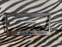 Advan Racing Plate Frame - BlackFlag Labs