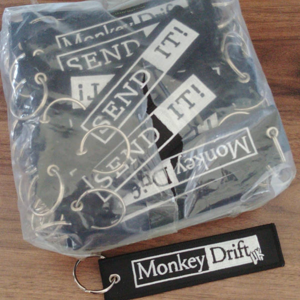 Monkey drift - Send It - Keyring - BlackFlag Labs