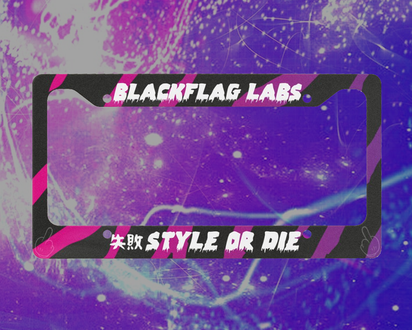 Number Plate Frame - BlackFlag Labs