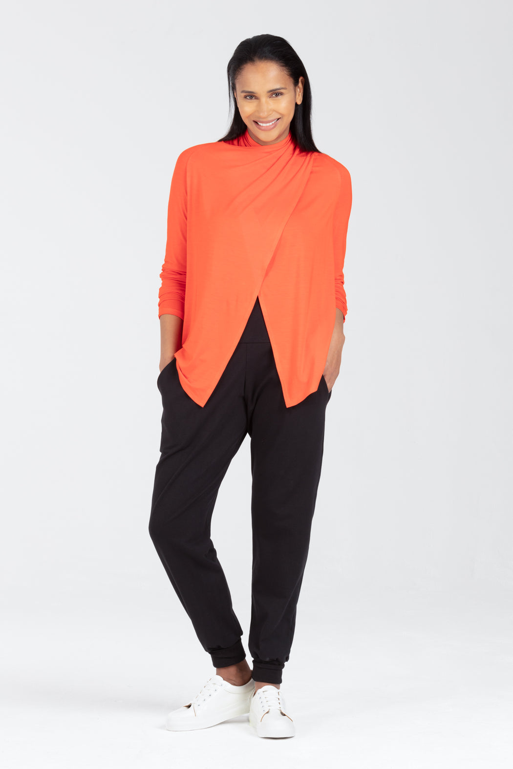 Marie Asymmetric Nursing Top