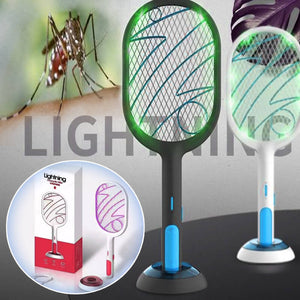 Rechargeable Electric Swatter & Night Mosquito Killing Lamp - Tipid Mania