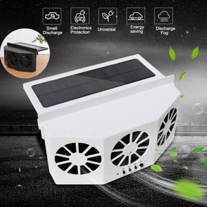 Specialized Solar Powered Car Cooler - Tipid Mania