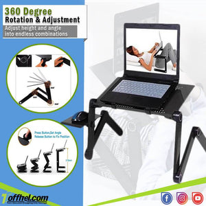 Versatile DeskPRO™ - Multipurpose Most Adjustable Computer Desk - Tipid Deals