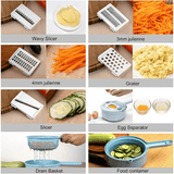 Versatile 8-in-1 Speedy Slicer (with FREE Chef Basket valued for P700.00) - Tipid Mania