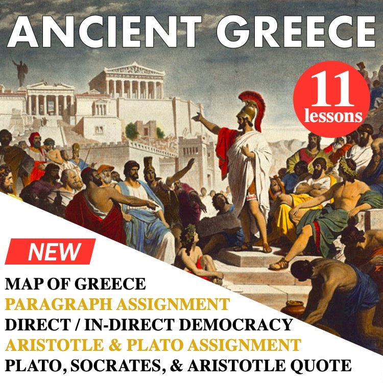 World History Ancient Greece Bundle