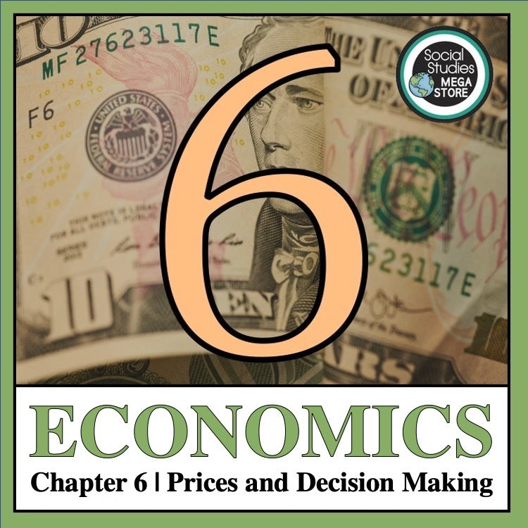 Chapter 6 | Prices and Decision Making