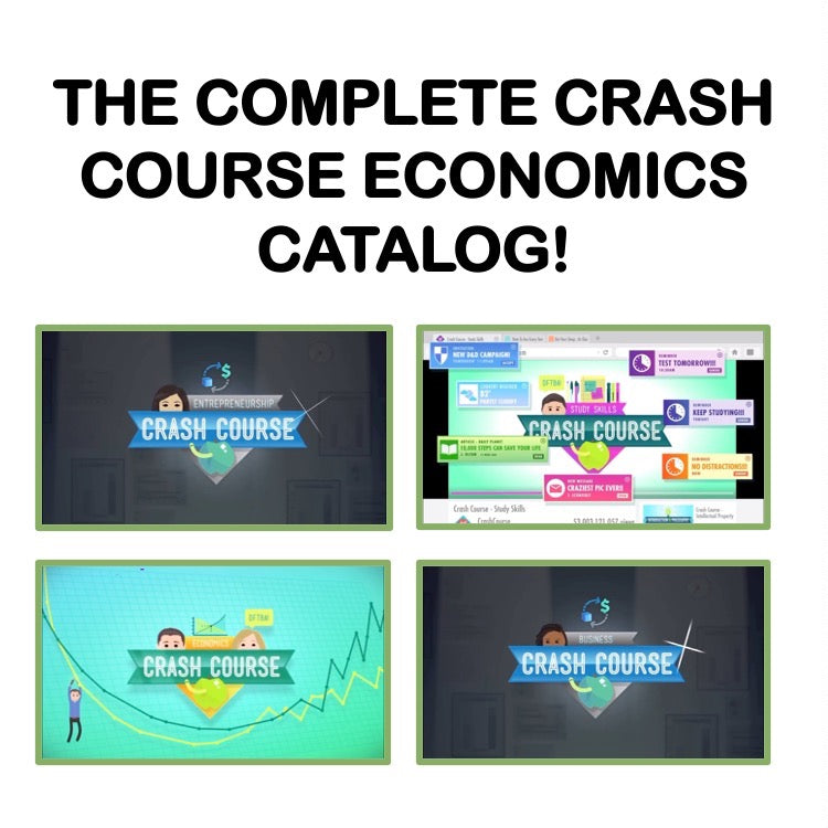 Economics & Personal Finance Full Semester Bundle | GOOGLE DRIVE LINK