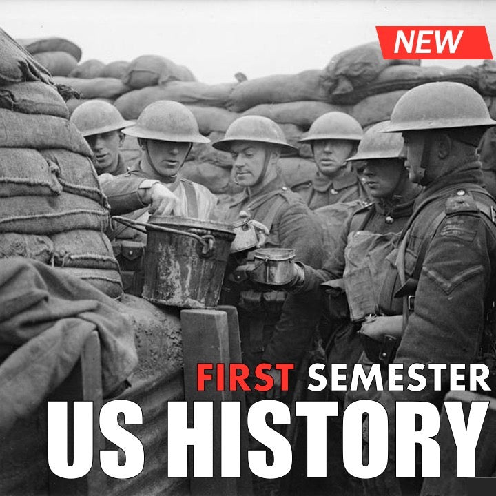 US History First Semester Bundle | Early America through WWI