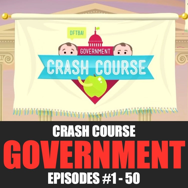 Crash Course Worksheets Mega Bundle | U.S. Government and Politics