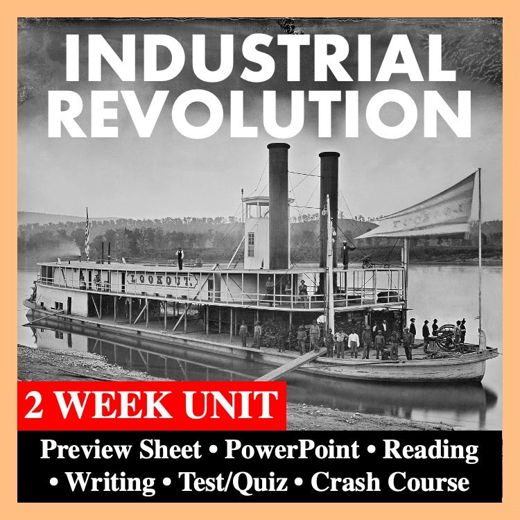 World History Industrial Revolution Bundle