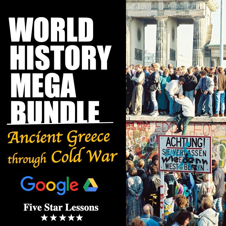 World History Full Year Mega Bundle