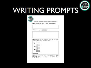 FREE Writing Activity Prompts