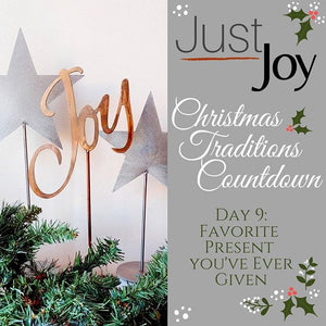 On the 9th day of Christmas - Traditions