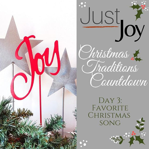 On the 3rd day of Christmas - Traditions