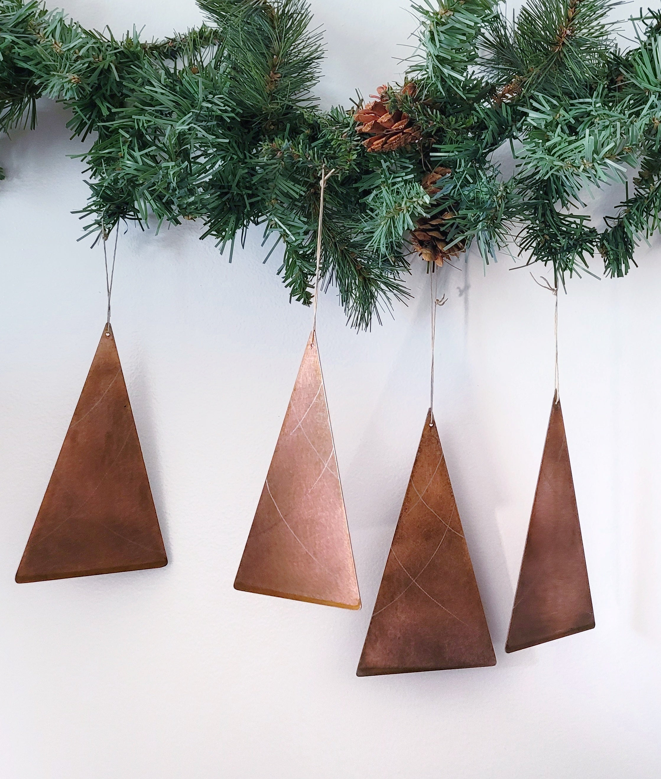 Steel Christmas Tree Ornaments