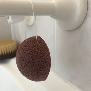 French Red Clay Konjac Sponge