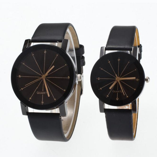 Minimalist Geometric Quartz Wristwatch