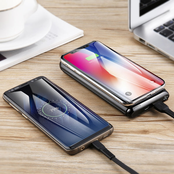Fast Charging Wireless Power Bank