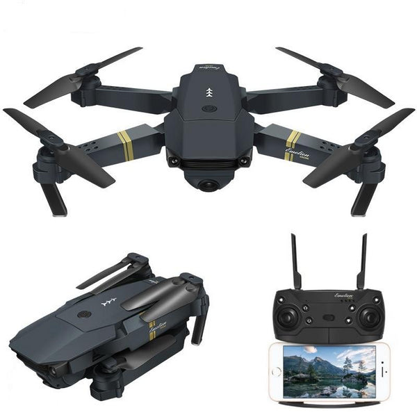 Wide Angle Foldable Quadcopter Drone