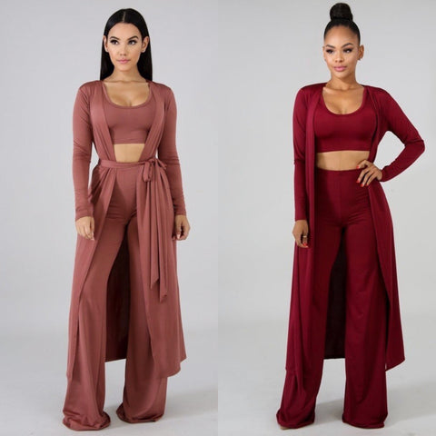 3 Piece Pants Set
