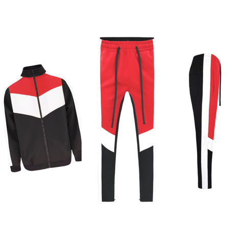 Red/Black Tracksuit