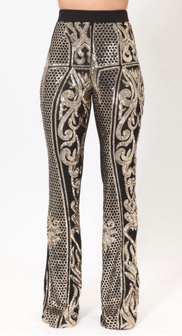 Printed Squins Pants