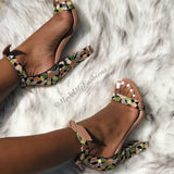 Ankle Tie Sandals