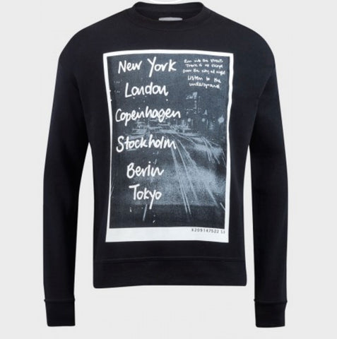 Men's City Print Sweatshirt