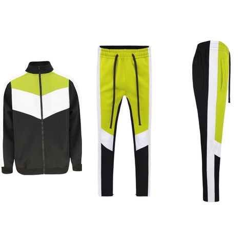 Neon Yellow Tracksuit