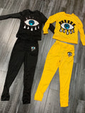 "''Eye"" Set ( Available in Black & Yellow)"