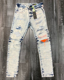 Neon Trim Denim Jeans