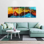 Fire and Ice Picture Wall Art