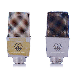 AKG C 12 A Rare Vintage LDC Tube Microphone Mic Brass Capsule Stereo Pair + PSU C12A