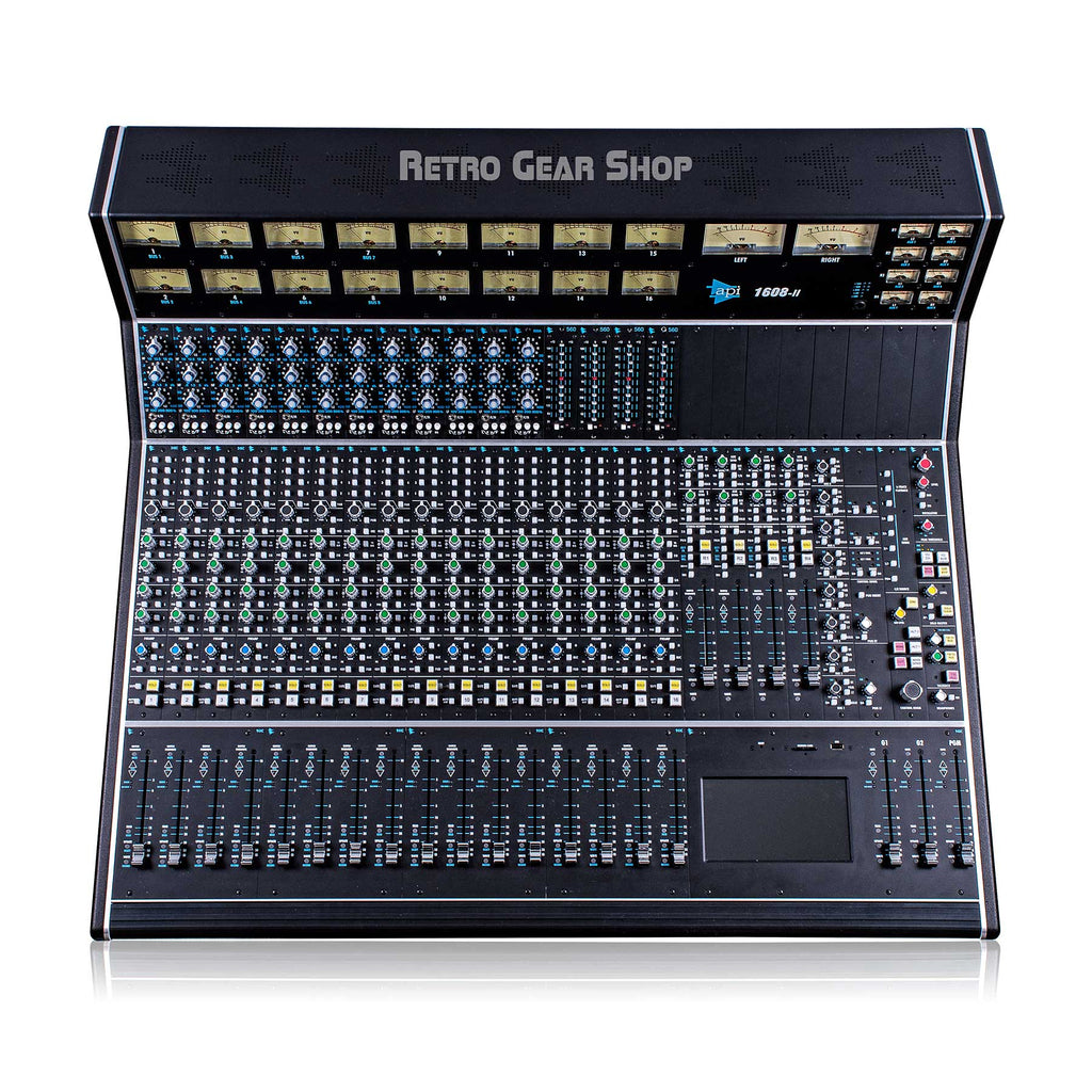 API 1608-II 16 Channel Analog Recording Console Mixing Desk 550A 560