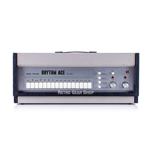 Acetone Rhythm Ace Full Auto FR-1 Rare Vintage Analog Drum Machine Ace Tone FR1