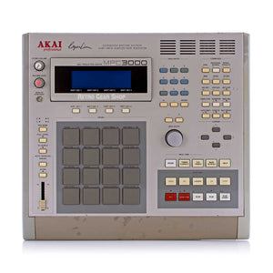 Akai MPC3000 Vintage Sampler Drum Machine Synth MPC 3000 owned by Puff Daddy from Daddy's House