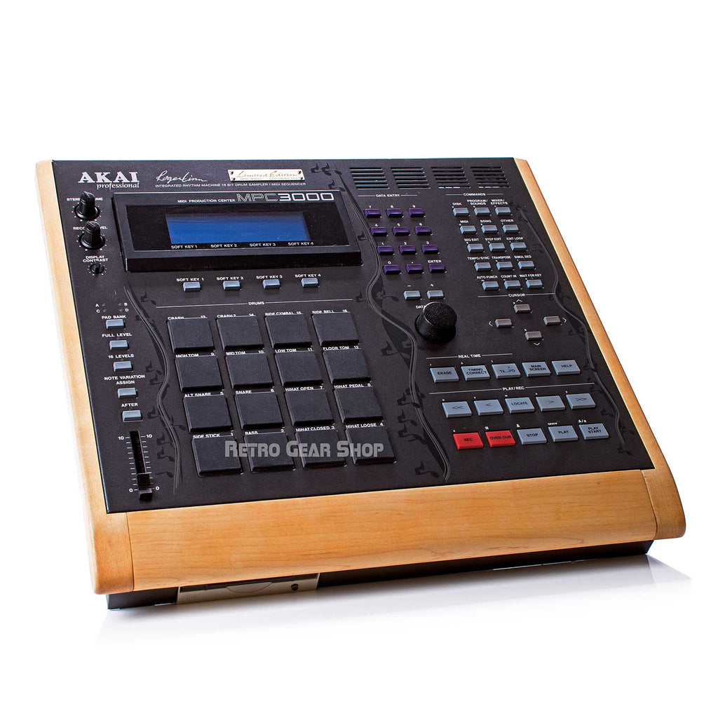 Akai MPC3000LE Custom Wood Vintage Drum Machine Sampler