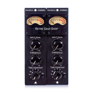 Anamod AM660 Stereo Pair AnaMod Audio 500 Series Compressor Module