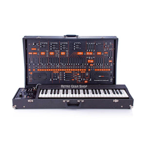 ARP 2600 + ARP 3620 Keyboard 2601 Black Orange Rare Vintage Analog Synthesizer Synth