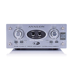 Avalon U5 Direct Box & Instrument Preamplifier Class A Active DI Preamp