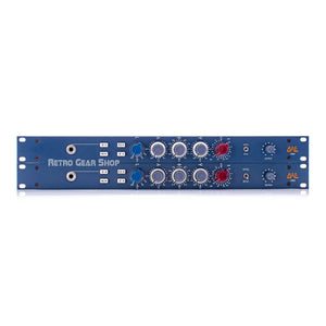 BAE 1023 Preamp EQ Equalizer Stereo Pair w/ PSU Power Supply