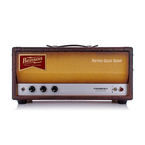 Benson Amps Chimera Head + 2x12 Cab Bourbon Burst Black 30W Guitar Tube Amp Amplifier