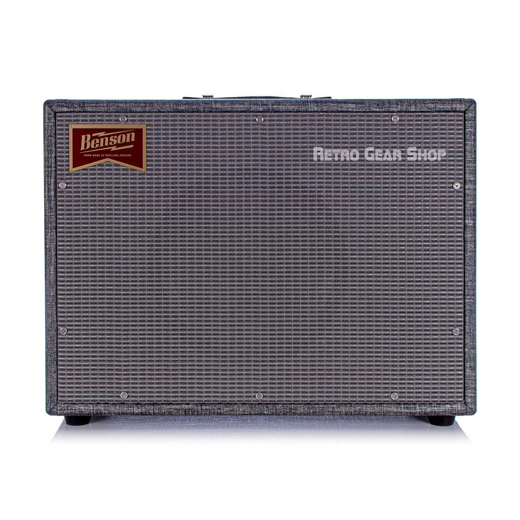 Benson Amps 1x12 Extra Wide Cab Night Moves Silver Grill Vincent Chimera