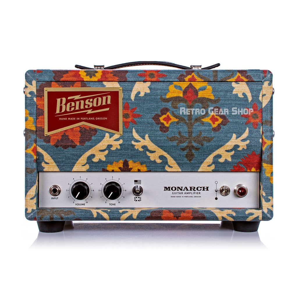 Benson Amps Monarch Head Aunt Gertie