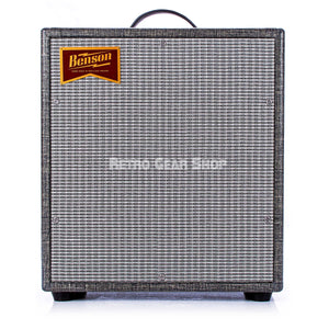 Benson Amps Monarch 1x12 Cabinet Night Moves Silver Grill