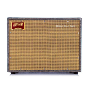 Benson Amps Monarch Reverb Combo 1x12 Night Moves Finish Wheat Grill