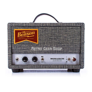 Benson Amps Monarch Head 15W Tube Guitar Amp Night Moves