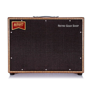 Benson Monarch Reverb Combo 1x12 Custom Rust Moves Gold Tube Amplifier Amp