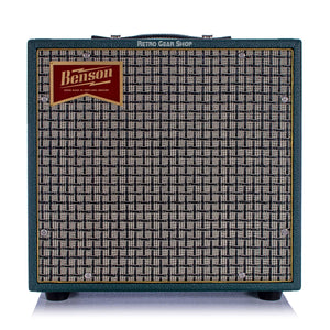 Benson Amps Nathan Junior Green Checkered Jr. 5W Tube Amplifier 1x10 Reverb Combo Amp